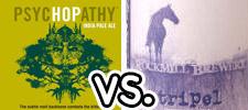 MadTree Brewing: PsycHOPathy IPA vs. Rockmill Brewery: Tripel