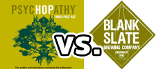 MadTree Brewing: PsycHOPathy IPA     Blank Slate Brewing Co: Fork in the Road